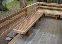 Deck Bench Design Ideas