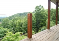 Deck Cable Railing Designs