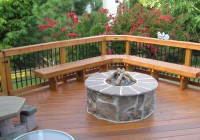 Deck Design Ideas With Fire Pit