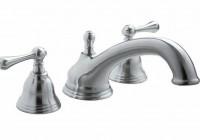 deck mount roman tub faucet