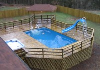 Deck Plans For Above Ground Pools Free