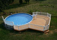 Deck Plans For Above Ground Pools On A Slope