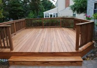 Deck Plans Free Standing