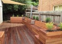 Deck Planter Box Bench