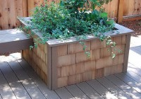 Deck Planter Box Drainage