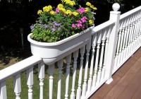 Deck Planter Boxes Railing