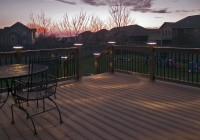 Deck Post Cap Lights Led