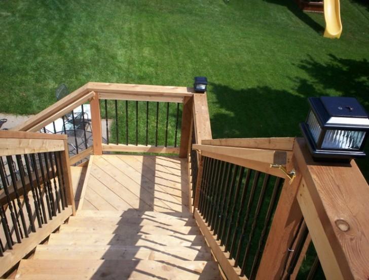 Permalink to Deck Railing Plans Free