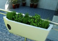 Deck Railing Planter Boxes Plans