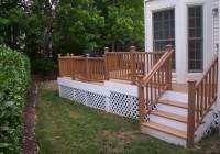 Deck Stair Handrail Designs
