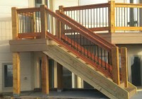 Deck Stair Rail Height Code