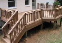 Deck Stair Railing Images