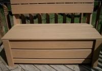 Deck Storage Bench Plans Free