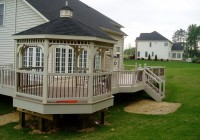 Deck With Gazebo Designs