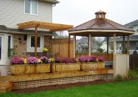 Deck With Gazebo Plans