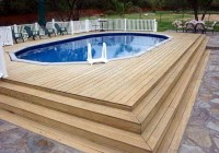 Decks For Above Ground Pools Pictures