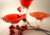 Decorative Glass Vases And Bowls