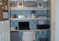 Desk In Closet Ideas