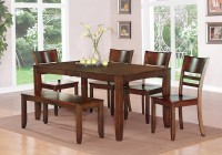 Dining Room Table With Bench And Chairs