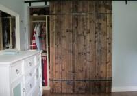 diy closet barn doors