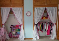 Diy Closet Curtain Ideas