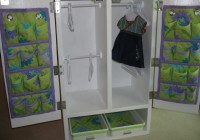 diy doll wardrobe closet