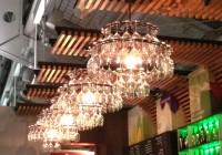 Diy Idea Wine Glass Chandelier