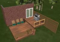 Diy Pallet Deck Plans