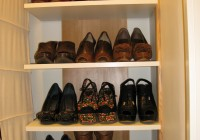 diy shoe shelves for closet