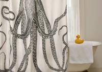 Diy Shower Curtain Art