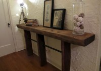Diy Skinny Console Table
