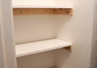 Diy Small Closet Shelves