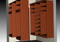 diy wood closet organizers