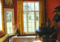 Door Window Curtains Half Circle