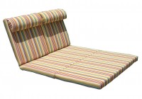 double chaise lounge cushion