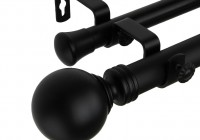 Double Curtain Rod Set Walmart