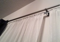 double rod curtains for living room