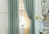 double shower curtain ideas