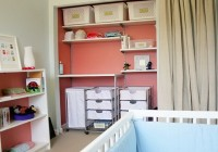 Dresser In Nursery Closet