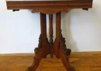 Eastlake Marble Top Side Table