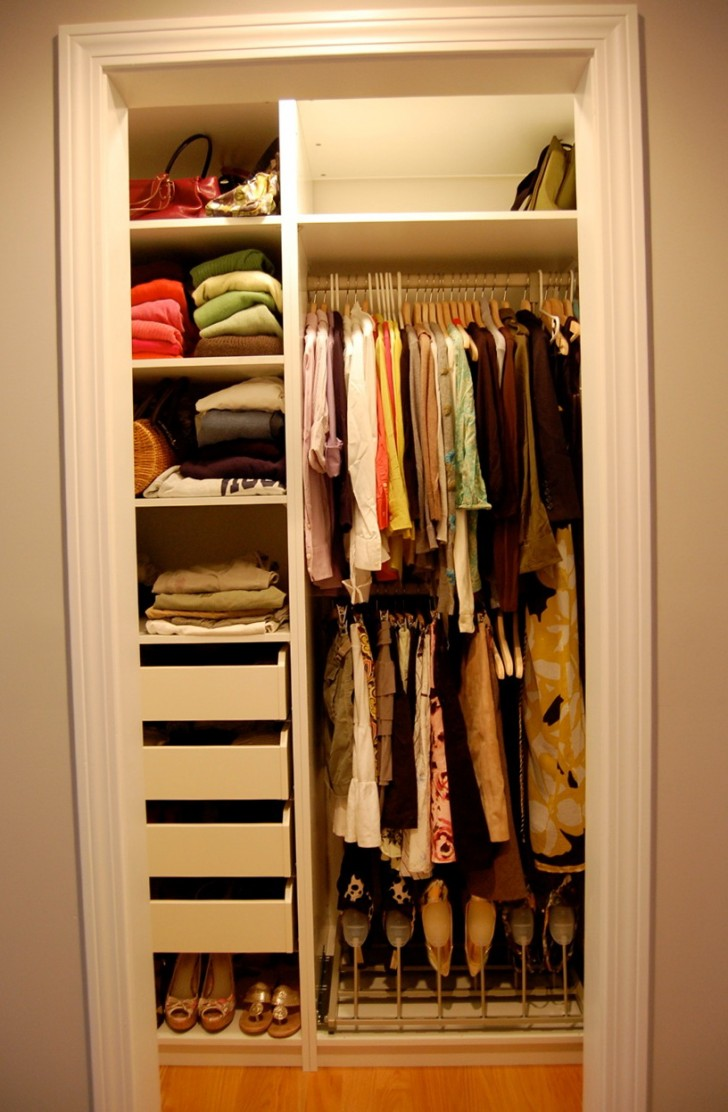Permalink to Easy Closet Organization Ideas For Small Closets