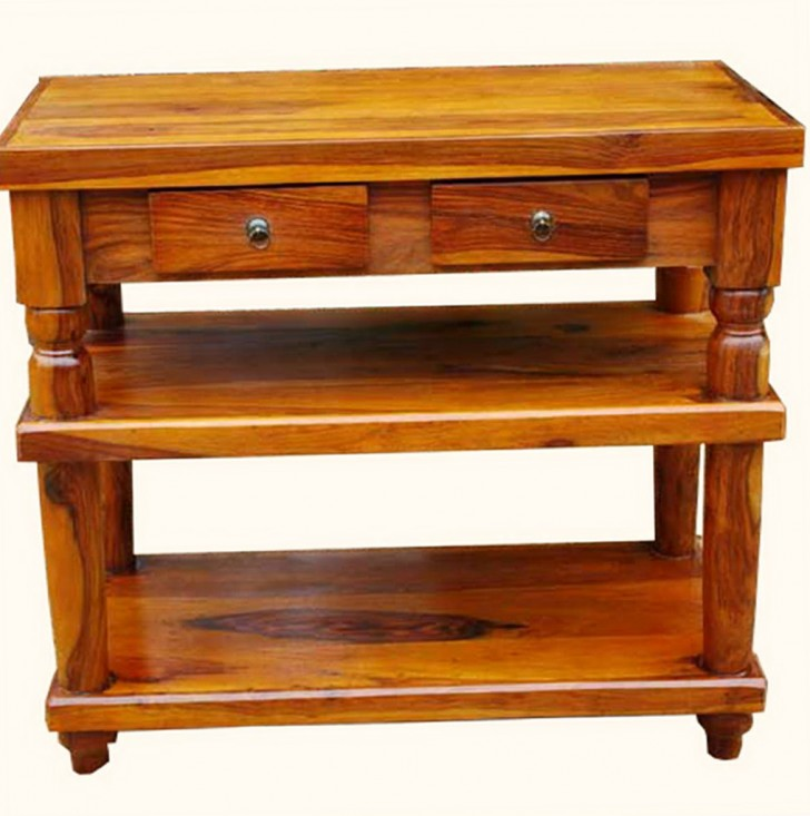 Permalink to Entry Console Table With Drawers