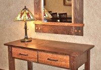 Entry Console Table With Mirror