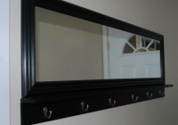 Entry Mirror With Coat Hooks
