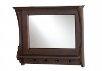 Entry Mirror With Hooks Canada