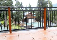 Extending Height Aluminum Railings For Decks