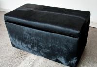 Fabric Storage Ottoman Australia