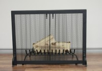 Fireplace Screen Curtain Mesh
