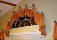 Flexible Curtain Rod For Eyebrow Window