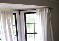 Flexible Curtain Rods For Bay Windows